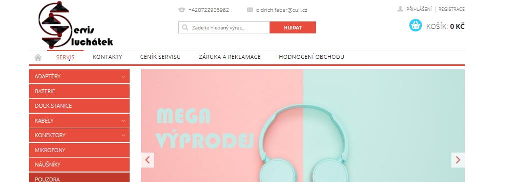 Servis sluchátek - kompletní služby v oblasti audio techniky